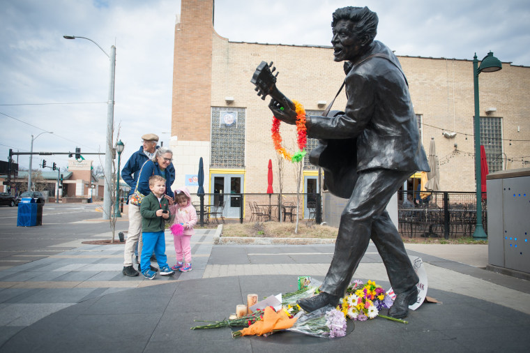 Image: St. Louis Area Mourns Death of Chuck Berry