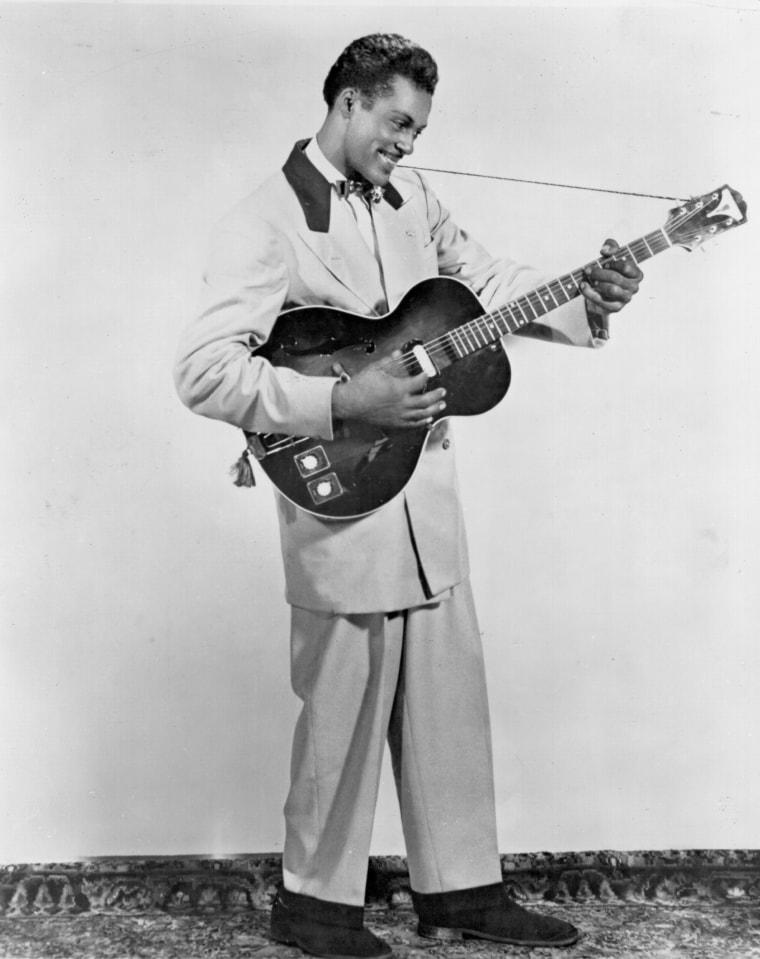 Image: Chuck Berry Portrait