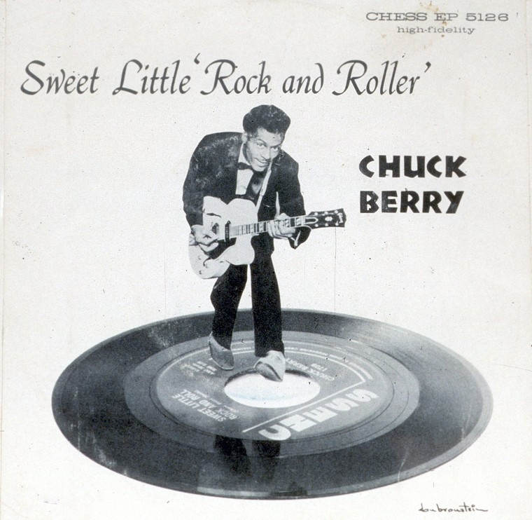 "Image: ""Sweet Little Rock And Roller"" Album Cover"