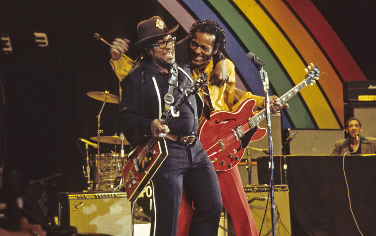 Image: BO DIDDLEY;CHUCK BERRY