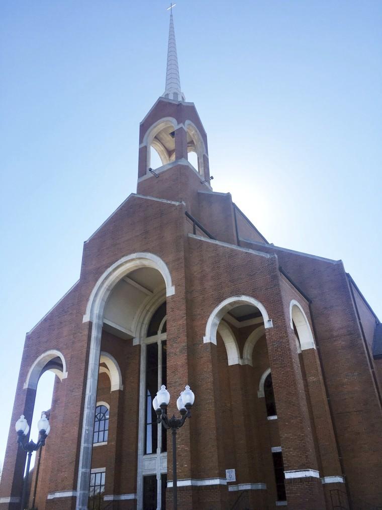 Image: The sanctuary at Briarwood Presbyterian Church, in Birmingham, Alabama, Feb. 26, 2017.