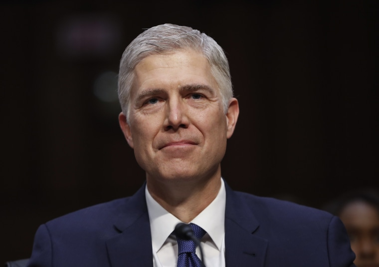 Image: Neil Gorsuch