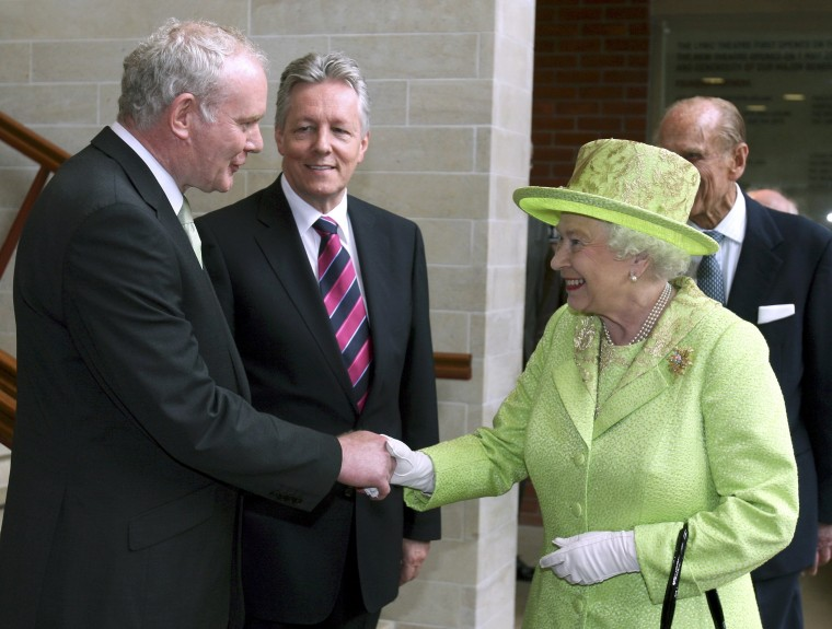 Image: Martin McGuinness and Queen Elizabeth II