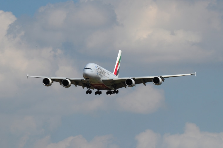 Image: Emirates airlines Airbus A380