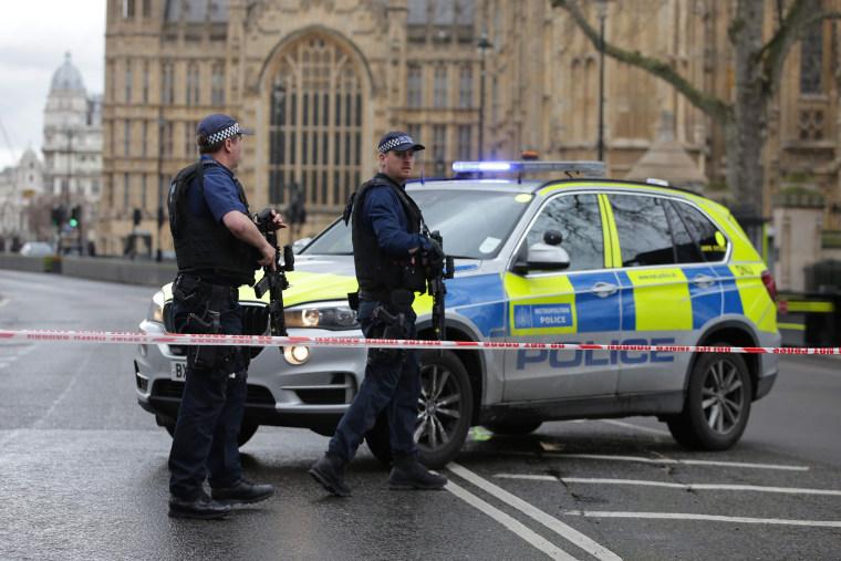 Image: BRITAIN-POLITICS-INCIDENT