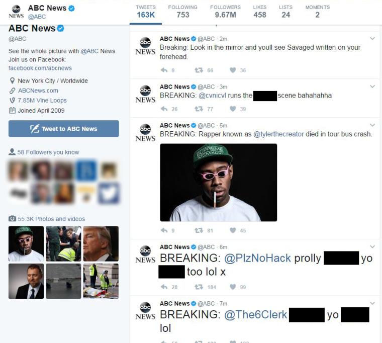 Image: ABC News Twitter account