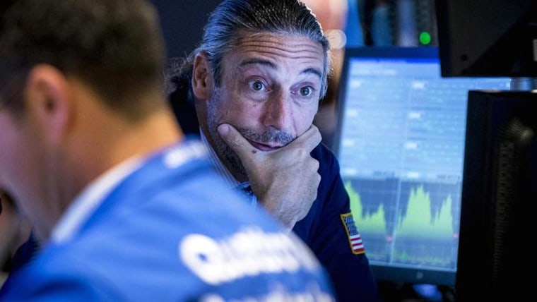 Wall Street traders are jittery ahead of the healthcare vote.
