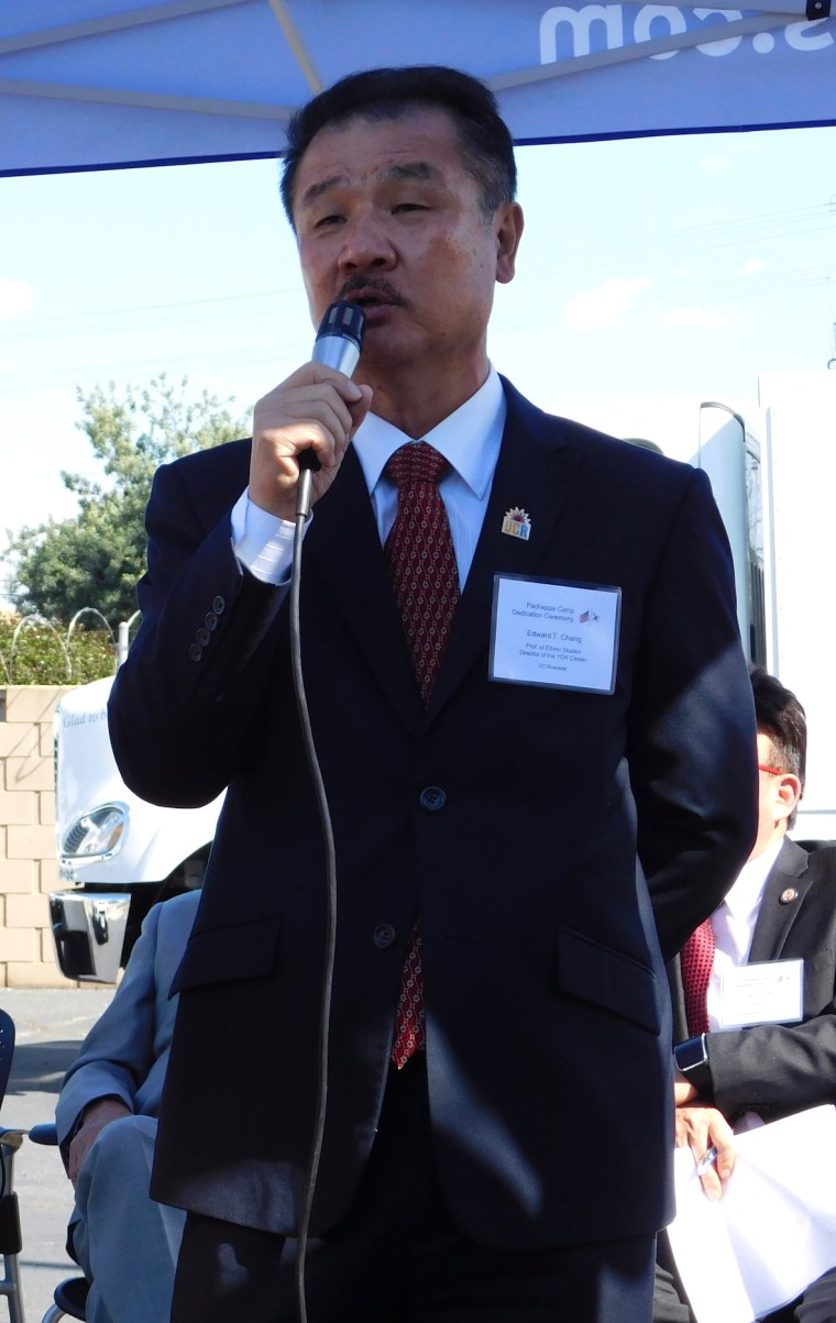 Edward Chang, director of the Young Oak Kim Center for Korean American Studies at the University of California, Riverside