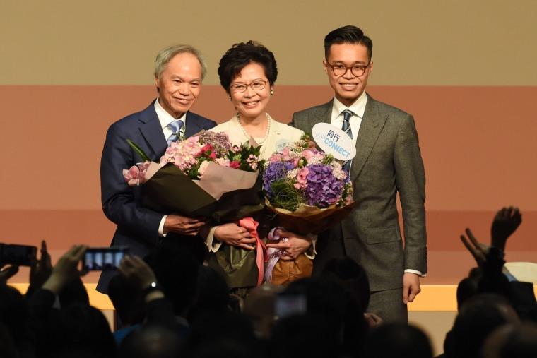 Image: HONG KONG-CHINA-POLITICS-VOTE-PROTEST-DEMOCRACY