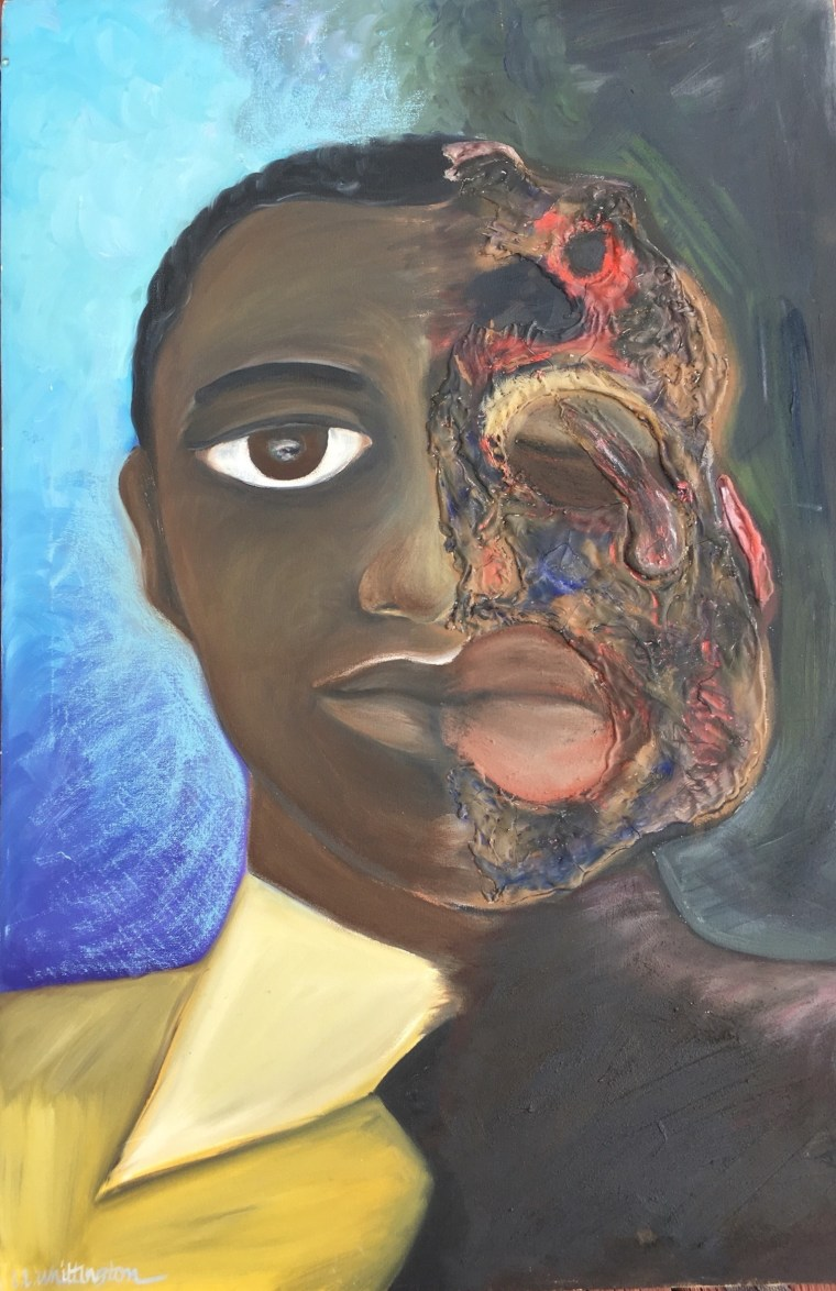 Angry Painter 2016 museumssowhite: black pain and why painting emmett till matters