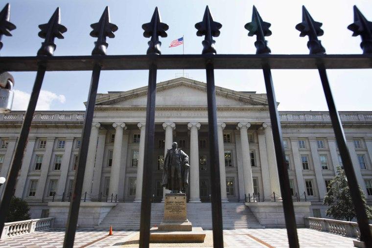 IMAGE: U.S. Treasury Building