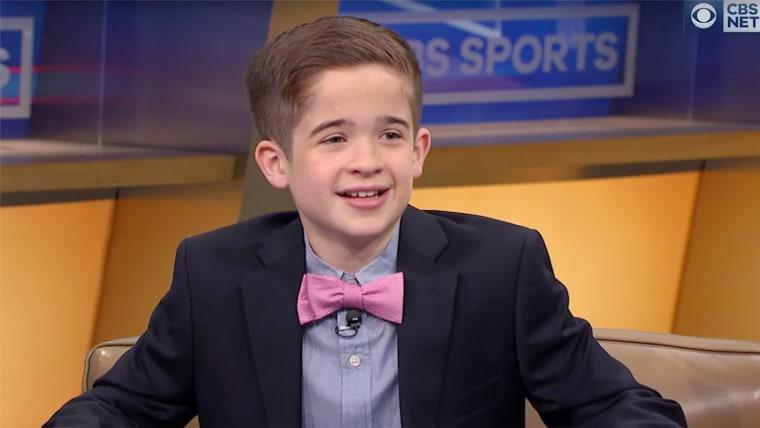 Sports Illustrated Kids reporter Max Bonnstetter