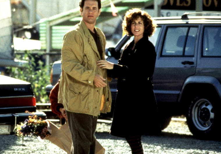 SLEEPLESS IN SEATTLE, Tom Hanks, Rita Wilson, 1993