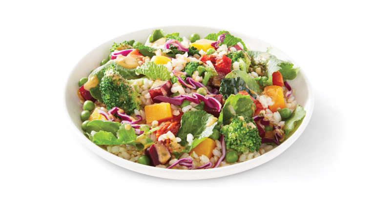 Starbucks Hearty Veggie and Brown Rice Salad Bowl