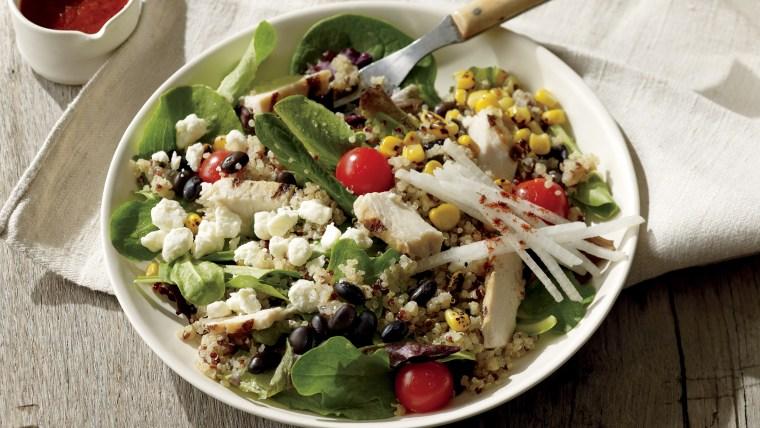 Starbucks Zesty Chicken and Black Bean Salad Bowl