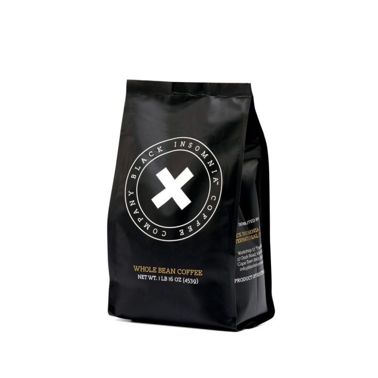 Black Insomnia Coffee Whole Beans