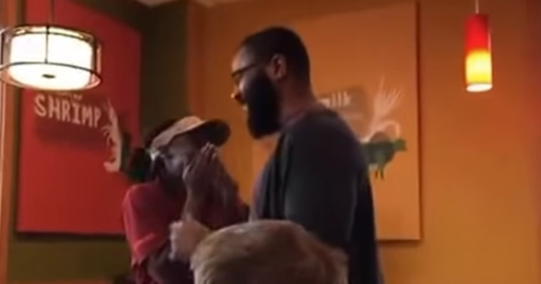 Donald Carter surprises Popeyes employee with nursing school tuition