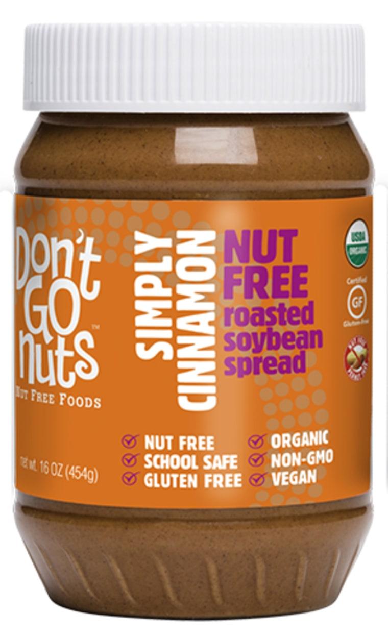 Don't Go Nuts Simply Cinnamon Soybean Spread