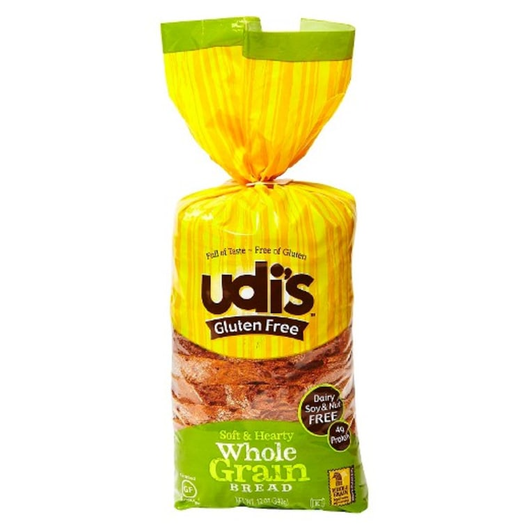 Wheat Free Udi's Gluten Free Whole Grain Bread