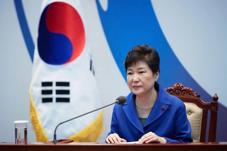 Image: South Korea's President Park Geun-Hye