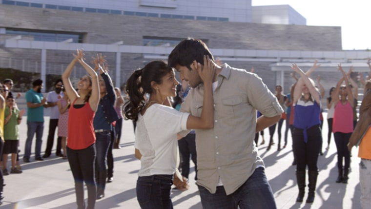"""Tech worker Vivek Pandit (Ali Fazal) navigates life, love, and the immigration system in """"For Here Or To Go?"""""""