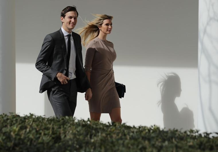 Image: Ivanka Trump and Jared Kushner