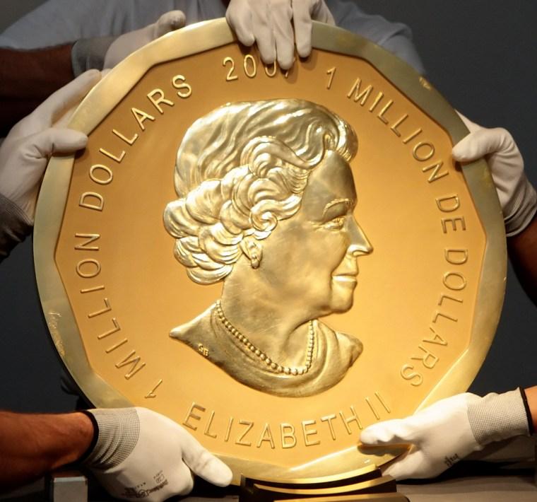 "Image: ""Big Maple Leaf"" coin"