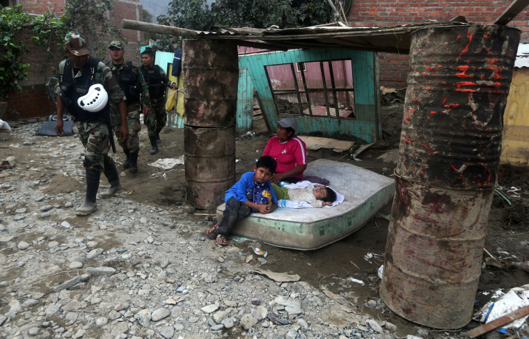 Image: Peru flooding wrecks havoc across Andean nation