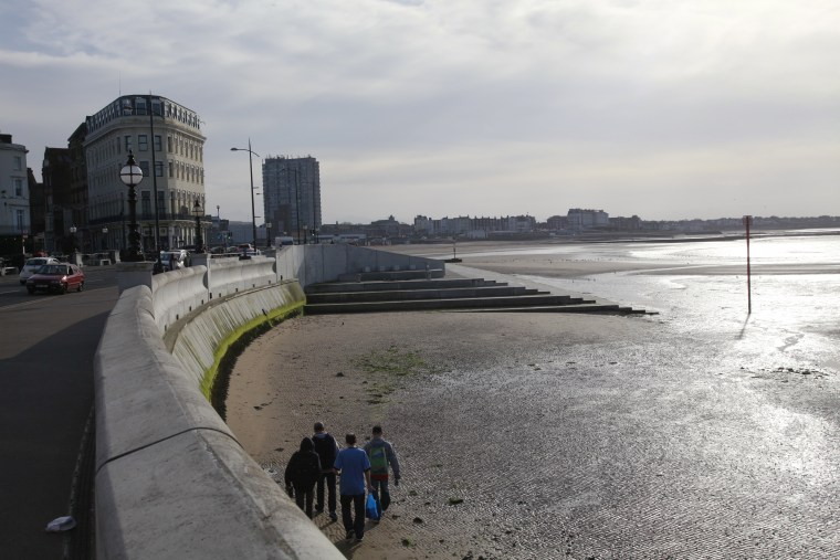 Image: The seafront in Margate, England