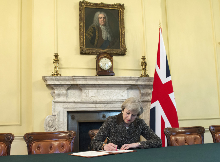 Image: British Prime Minister Theresa May