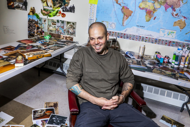 Residente (Rene Perez Joglar) photographed at the Loisaida Center