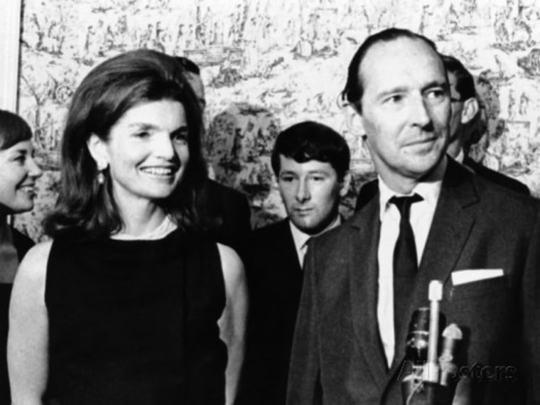 Jacqueline Kennedy with David Ormsby-Gore in 1966