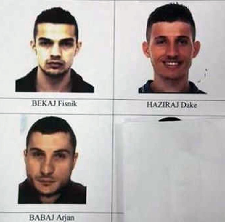 Image: 3 alleged jihadists captured in Italy