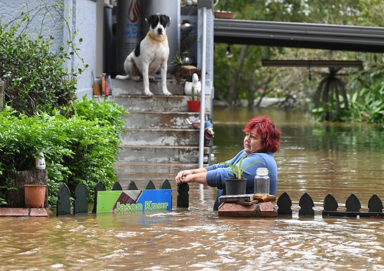 Image: Flooding in New South Wales, Australia