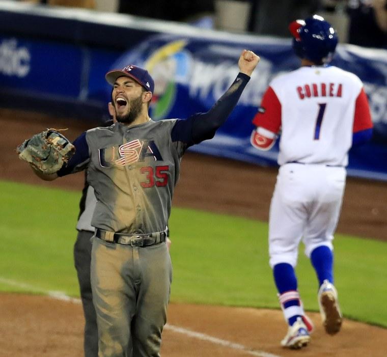 Image: World Baseball Classic, Los Angeles, USA - 22 Mar 2017