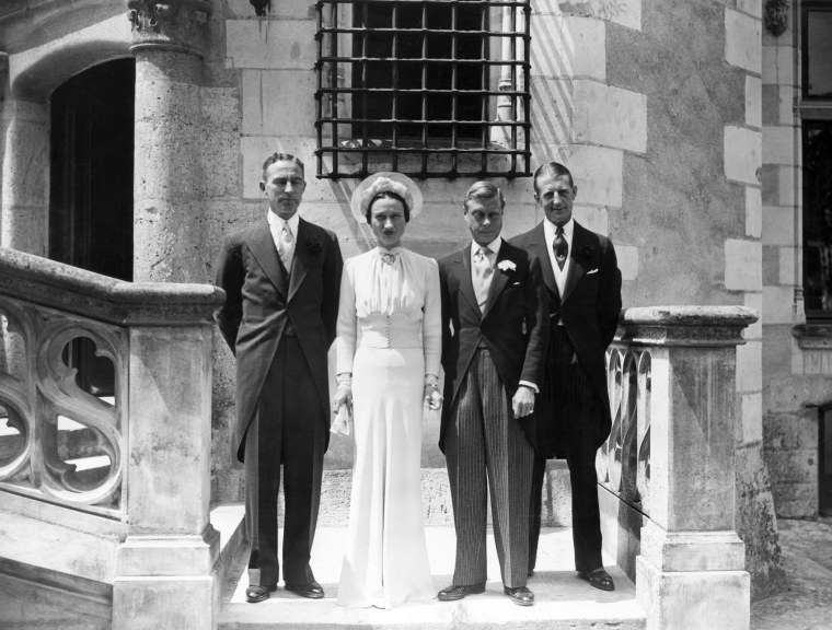 Image: The wedding of Prince Edward — who was formerly known as King Edward VIII — and Wallis Simpson in 1937