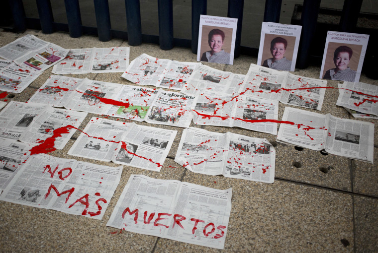 Image: Photos of Mexican journalist Miroslava Breach