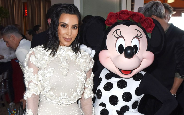 Minnie Mouse at Fashion Los Angeles Awards