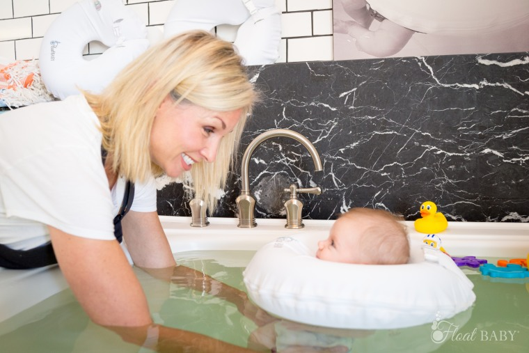 float baby is a spa for infants
