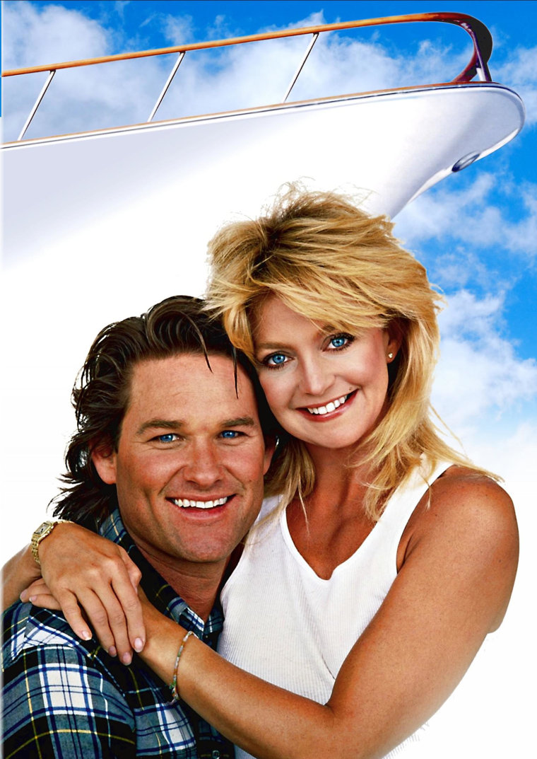 Kurt Russell, Goldie Hawn in Overboard.