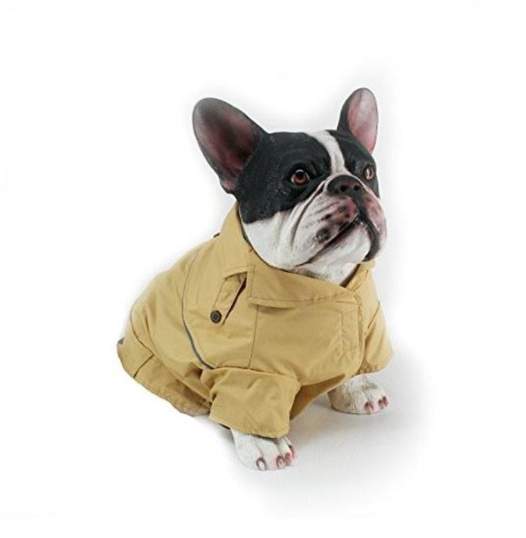 Dog trench coat