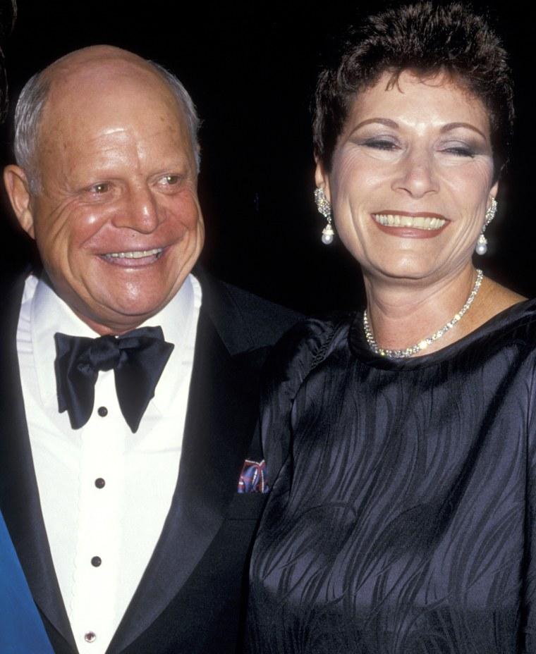 Don Rickles and wife Barbara Sklar