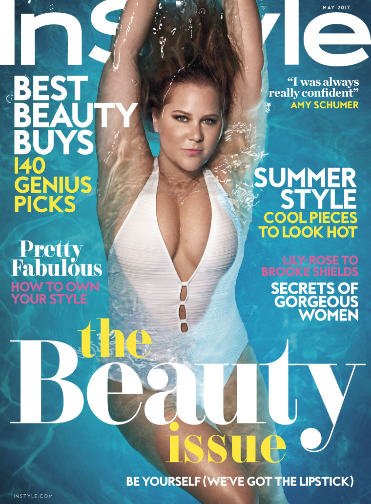 Amy Schumer, InStyle's May cover