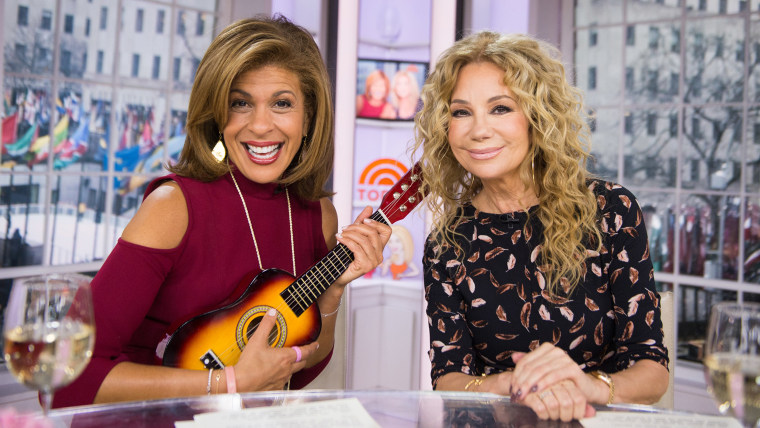 Kathie Lee Gifford and Hoda Kotb on the Today Show, February 7, 2017.