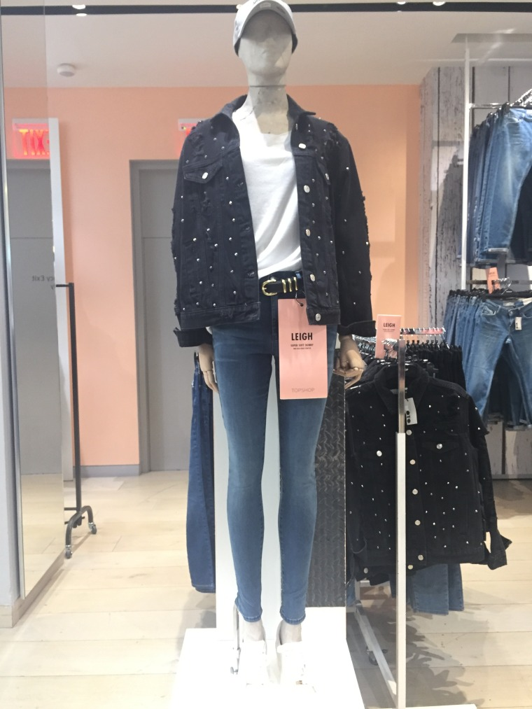 Topshop mannequins in New York