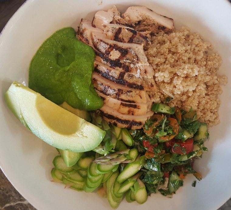 Chicken and Quinoa Bowls