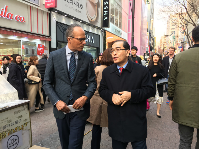 North Korean Defector Tells Lester Holt 'World Should Be Ready'