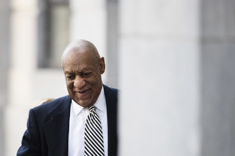 Image: Bill Cosby arrives for a pretrial hearing in his sexual assault case