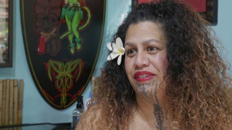 Through sharing her own personal story of assault and survival, tattoo artist Marlo Kaleo'okalani Lualemana hopes to help others heal through the process of tattooing.