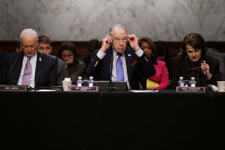 Image: Senate Judiciary Cmte Votes On Neil Gorsuch Nomination For Supreme Court